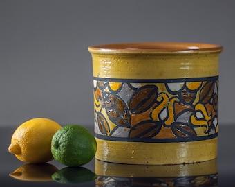 Vintage 70's Mid Century Modern Raymor Pottery, Vintage 60's Italian Modern Aldo Londi Bitossi Pottery, FREE SHIPPING  to Canada and U.S.A