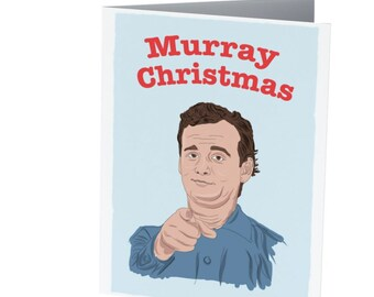 MURRAY CHRISTMAS |  Funny Christmas card