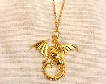 The dungeon dragon necklace