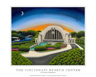 Cincinnati Museum Center at Union Terminal - Signed/Numbered by the artist