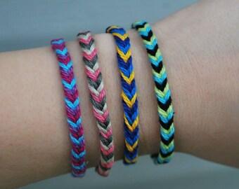 Fishtail Friendship Bracelet Made To Order