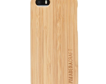 iPhone5 Case | iPhone5s Case | Bamboo Wood Case | Unique Wooden Cover | Case For Men – Women | Gift For Men -  Women
