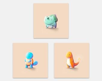 Pokémon Starters Set