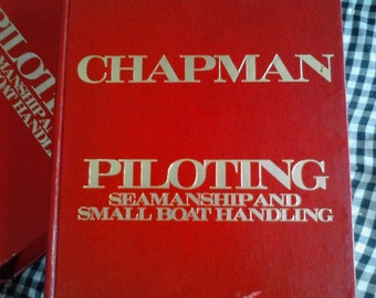 Vintage Seaman's Book, Chapman's Piloting, Seamanship and Small Boat Handling, 54th Edition ECS