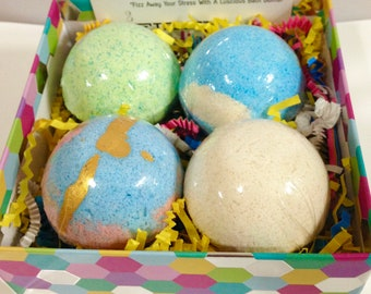 Mother's Day Bath Bomb Gift Set,Bath Bombs,Luscious Bath Bomb,,Mother's Day,Mom,You're the Bomb!,Bath Bombs,Customize Your Own Box of Bombs