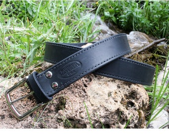The Ultimate Leather Gun Belt