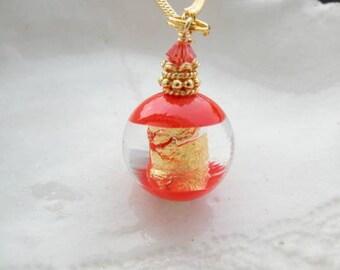 Venetian Murano Round Glass Necklace