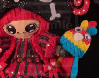 Betty/OOAK/Handmade Doll