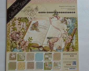 SALE Graphic 45 Once Upon A Springtime Collectors Edition