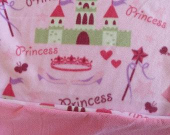 Fleece Princess Cuddle Blanket