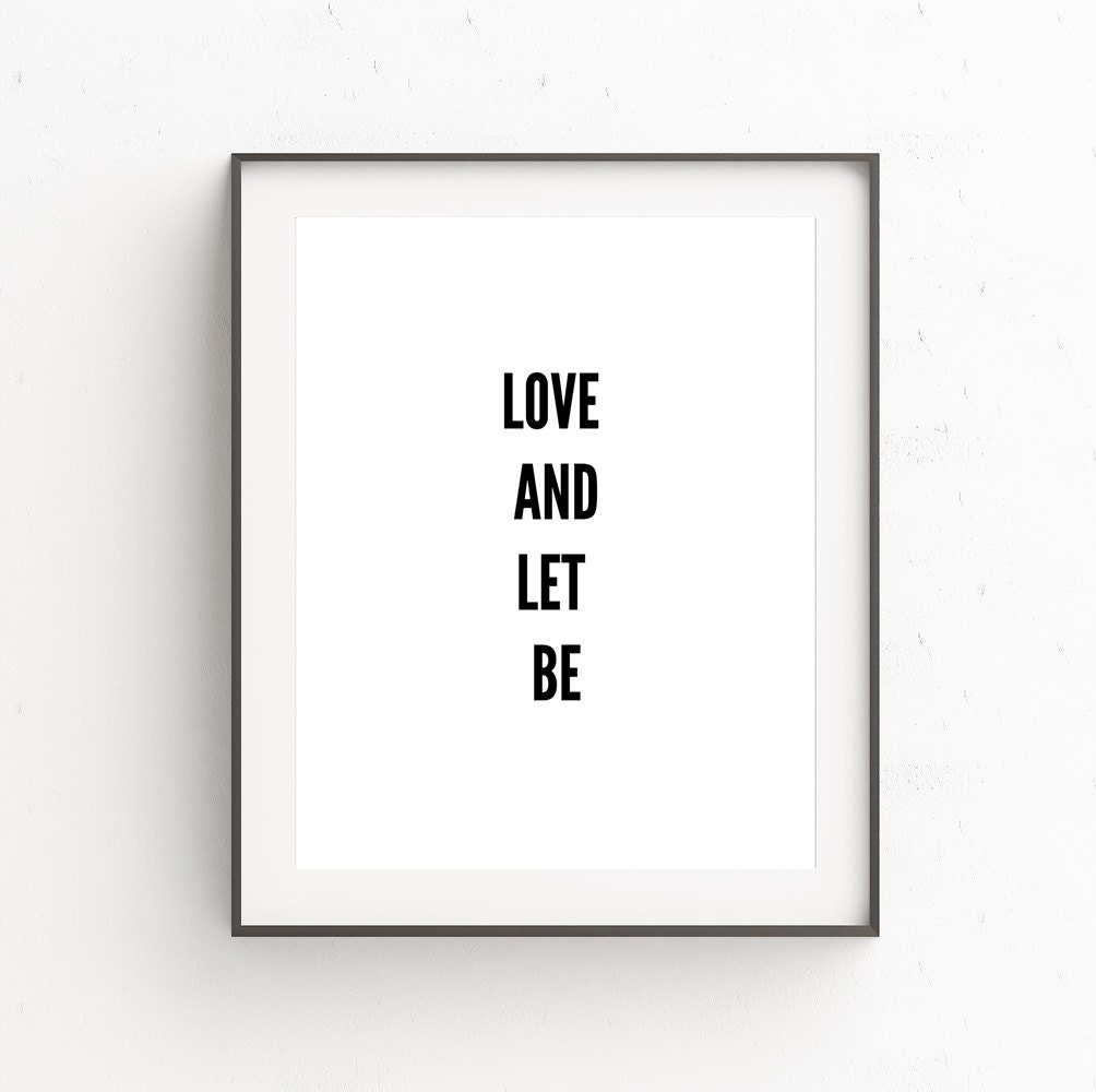 Quotes Wall Art Wall Sayings Love Posters Word Art Love Quote Prints
