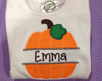 Pumpkin Name Shirt