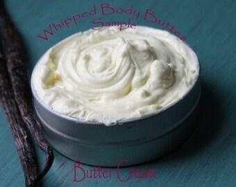Butter cream Whipped Body Butter/ Sample Size Body Butter/ Nourshing Dry Skin