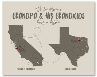 Fathers Day Gift for Grandpa Fathers Day Gift Grandpa Fathers Day from Kids Fathers Day Gift from Kids Personalized Grandpa Gifts Grandkids