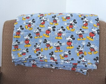 Vintage Mickey Mouse Twin Sheet Set