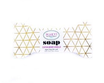 Sandalwood Vanilla Mini Soap | Cold Process Soap | Handmade | Gift | Bestseller | Natural | Vegan