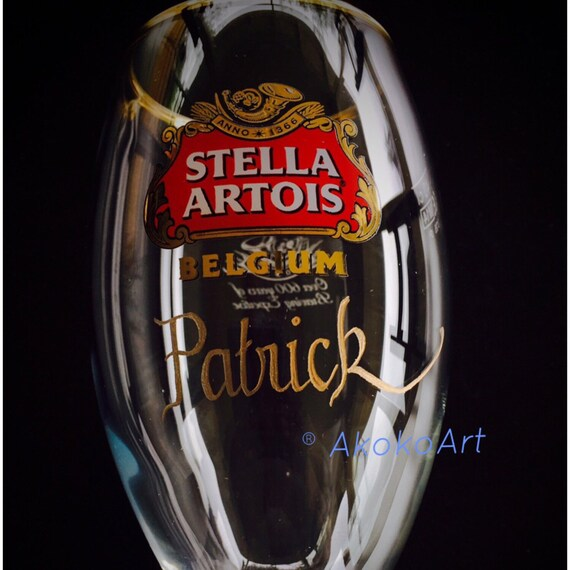 Stella Artois Chalice Engraving, STELLA CHALICE 33CL, chalice engraving, stella artois engraved, engraved beer glasses, personalized chalice