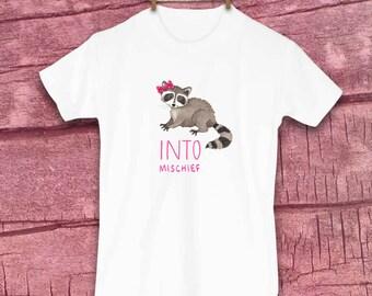 Cute Kids Clothes, Cute Toddler Clothes, Unique Kids Clothes, Fall Toddler Clothes, Raccoon, Autumn, Gift