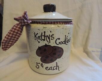 Cookies Cookie jar  PERSONALIZED FREE!!