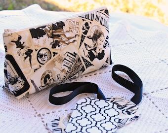Gift Set - Curtain Call - Medium Cosmetic Bag - 2 Luggage Tags