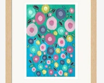 """Limited Edition Digital Print """"Summer Blooms"""""""