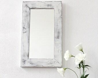 decorative wall mirrors small mirrors rustic mirror wood frame mirror shabby chic - Modern Mirrors