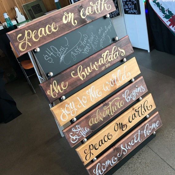 Greeting Board, Rustic Welcome Board, Wood Home Decor, Housewarming, Established Board, Wedding Gift, Gifts for Couples, Welcome Home Sign