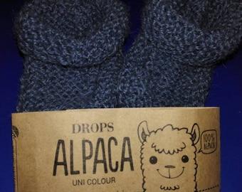 Scarpine neonato 100% alpaca