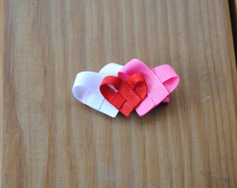 Valentine's Day Heart Bow
