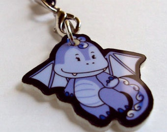 Blue Dragon Charm