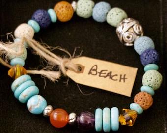 Essential Oil Diffusing Bracelet - BEACH