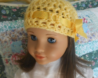 AG Handmade crocheted hats with choice of color