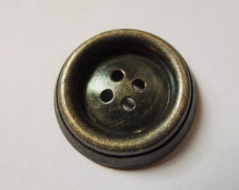 9 silver buttons antique