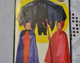 Butterick Sewing Pattern 5106 Childrens No Sew Costume Fashion Clothing DIY  PanchosPorch
