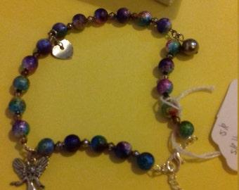 Handmade S/P Charm Bracelet/Anklette (adjustable)