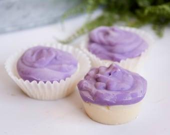 "Handmade Goat's Milk Soap - Bubbalicious ""Cupcakes"""