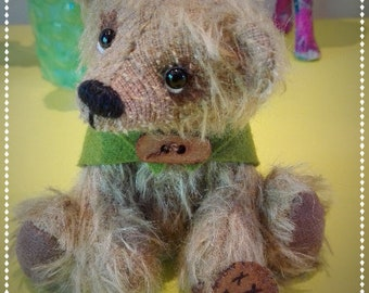 Fynn, OOAK artist bear - boy - cute gift