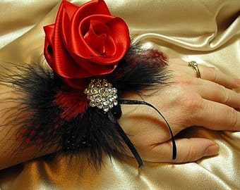 Keepsake Corsage Red Hot