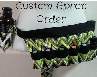 Custom Oil Apron