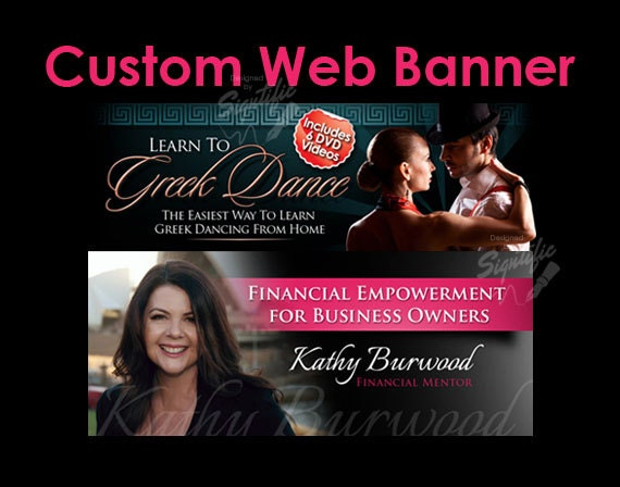 Custom Banner Design, Website header, Custom Web Slider, Professional Banner, Custom Ad, Website Ad, Social Media Cover, Business Ad Design