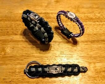 Michael Jackson Inspired Paracord Bracelet