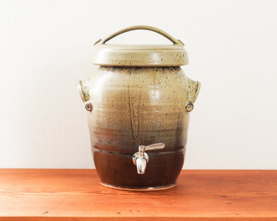 Made To Order Large Two Gallon Kombucha Fermentation Crock