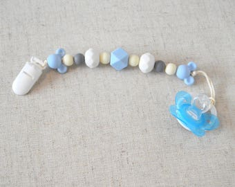 Mickey Mouse Light Blue Teething Band