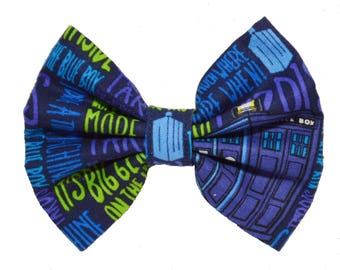 Fandom Bow - Dr. Who