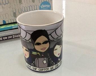 Drinkware - coffee, tea, mug - Flight Attendant Mug - Once we have our coffee we can take off