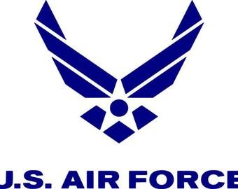 U.S. Air Force Cornhole Decal Set - Window Decals