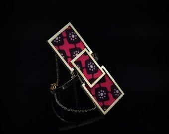 African fabric cuff