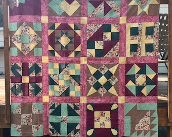 Sampler Quilt - throw