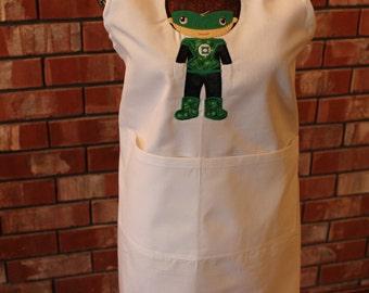 Super Hero Apron - Green Lantern