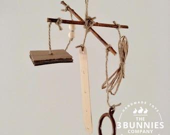 Rattle toy / rabbit toys / bunny toys / toys for rabbits bunnies / rabbit bunny enrichment toys / safe rabbit toys / wooden chew toys